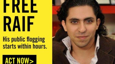 "The Saudi regime meted out 50 lashes to blogger Raif Badawi for the crime of ""insulting Islam."""