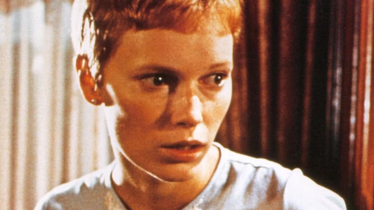 Mia farrow in 'Rosemary's Baby'.