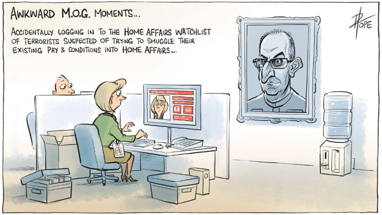 Cartoon: David Pope