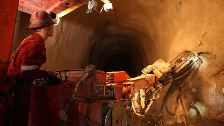 Rio Tinto's Oyu Tolgoi mine in Mongolia.