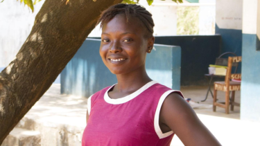 Fatmata is one of the students who has benefited from the One Girl program.