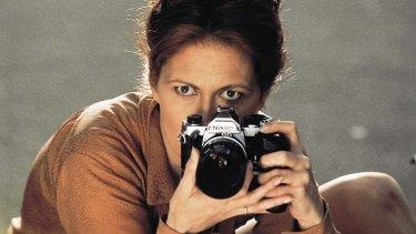 Faye Dunaway in The Eyes of Laura Mars.