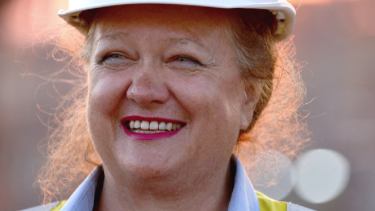 Gina Rinehart's Hancock Prospecting paid almost $500 million in tax last year, at a 30 per cent tax rate on its $1.5 billion taxable income.