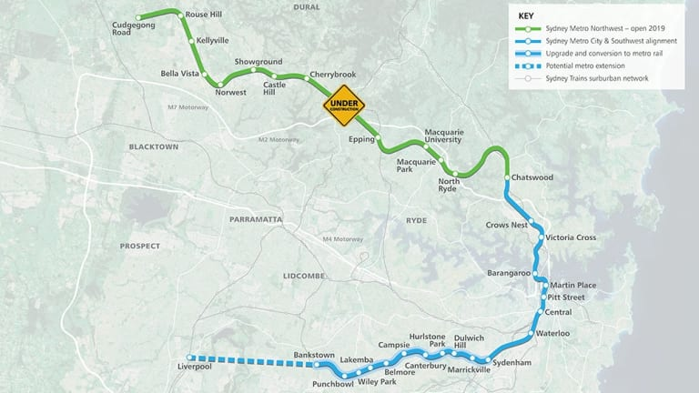 The next contract MTR wants to sign is for the extension to the Sydney Metro Northwest.