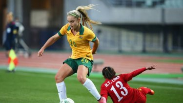 Matildas youngster Ellie Carpenter has joined Canberra United.