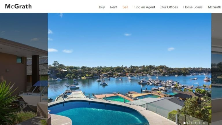 McGrath sold the Yowie Bay home for an undisclosed sum.