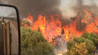 A bushfire emergency has been issued for Brigadoon.