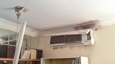Swan View resident Ozzie said the strike melted wiring in the airconditioning.
