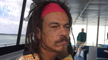 Quandamooka dreaming - Quandamooka storyteller Josh Walker aboard the Straddie Flyer