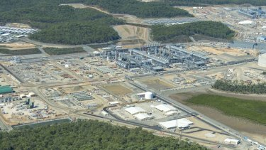 It's taken seven years, but production has commenced at Origin Energy's Australia Pacific LNG project in Queensland.