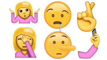 New Emoji Face Palm Shrug And Selfie Included In Unicode 90