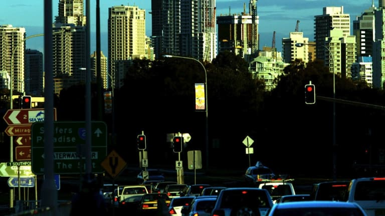Five choked Gold Coast roads will be upgraded before the Commonwealth Games