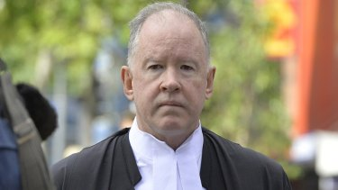 Michael Byrne QC, who is the chairman of Racing Queensland, will head a royal commission into organised crime.