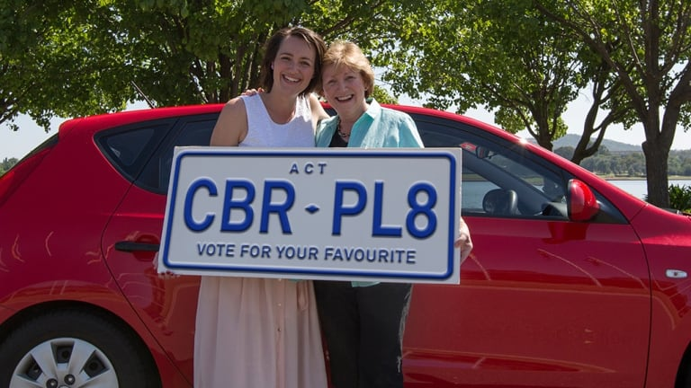 The government held a competition for Canberra's new number plate slogan.