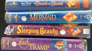 This collection of Disney titles on VHS is currently being offered on eBay Australia for $25,000.