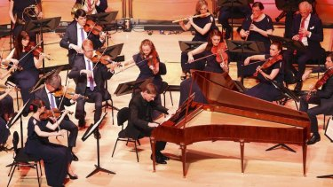 Kristian Bezuidenhout was guest director of the Australian Brandenburg Orchestra's Mozart's Fortepiano concert.