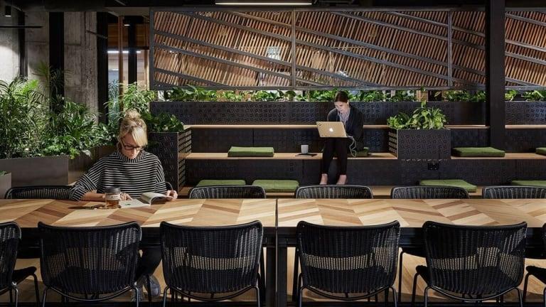 Slack's Melbourne office has an unmistakable zen about the place.