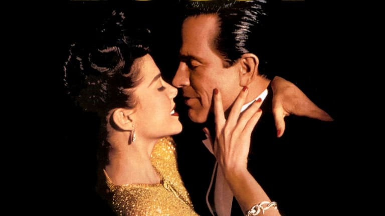 The heroic goodbyes shared by  Annette Bening as Virginia Hill and Warren Beatty as Bugsy Siegel in the movie Bugsy were a romantic fantasy.