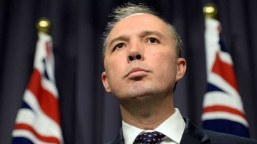 """Immigration Minister Peter Dutton had said it was """"no wonder"""" lenient sentences were dished out in Queensland """"when you look at who appointed the judges and magistrates""""."""