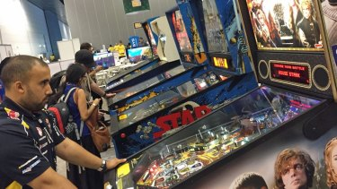 Pinball wizards were also at home in the Classic Gaming Area at PAX.