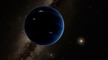 Outgoing Chief Scientist Professor Ian Chubb says science is the answer to all the world's problems. An artist's impression of Planet Nine, which could sit at the edge of our solar system.