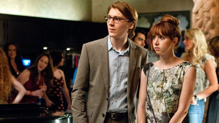 Kazan and boyfriend Paul Dano in 2012's Ruby Sparks, which she also wrote.