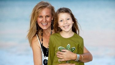 Kerryn-Leigh and her daughter Imi years earlier.