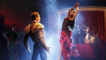 Brisbane audiences can now take in the splendour of Baz Luhrmann's Strictly Ballroom the Musical.