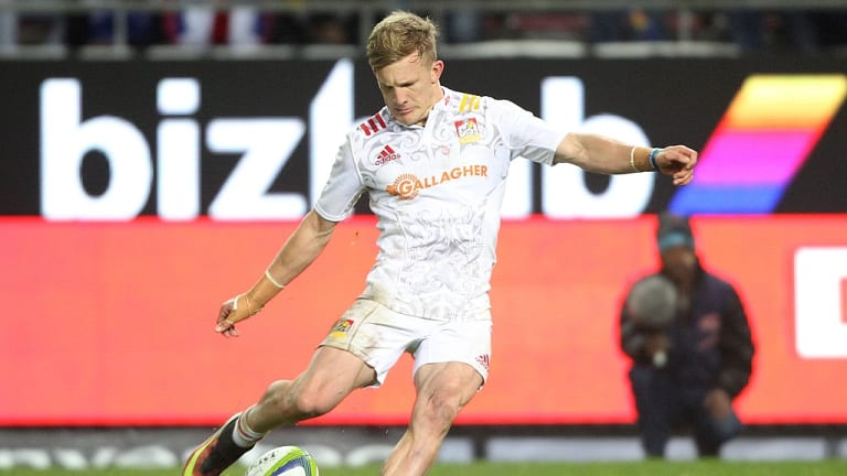 New faces: Damian McKenzie is one of five new faces to come into the All Blacks squad for the second Bledisloe Cup game.