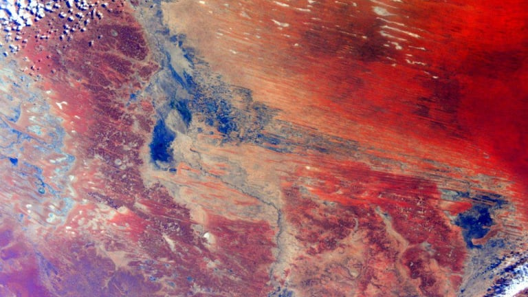 NASA astronaut Scott Kelly snapped this photo of Australia from space.