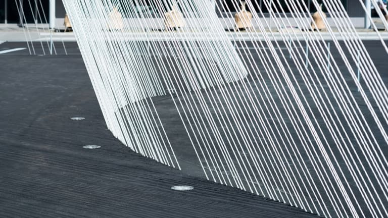 Japanese architect and writer Kengo Kuma's high-tech construction materials.