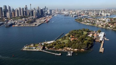 Goat Island was owned by Bennelong's family when the First Fleet arrived in 1788.