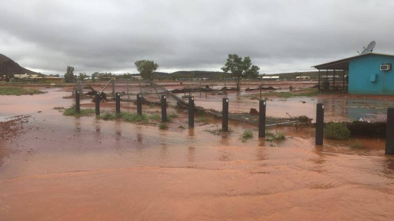 Tourist found after car washed away at flooded hugh river Alice springs swimming pool opening hours
