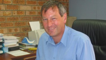 Bail: Former chief executive of Bega Cheese Maurice van Ryn.