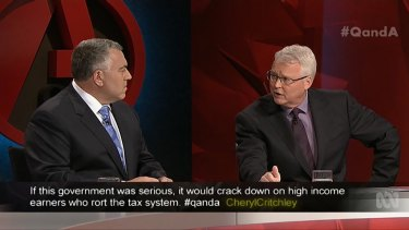 """""""Our view is, in the current environment, given you have got very low returns on superannuation, it is not the time to introduce new taxes."""": Treasurer Joe Hockey."""
