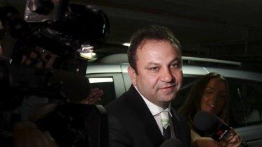 Denies involvement: Former brothel-owner Eddie Hayson.