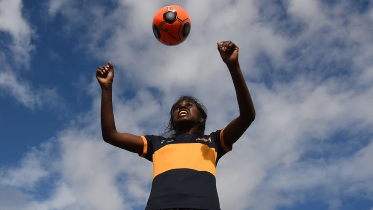 Indigenous Football Week Ffa Slash Funding For John Moriarty