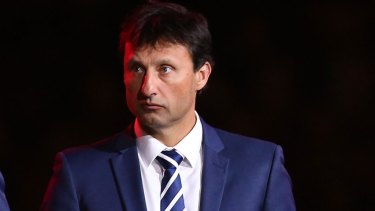 Out of options: Blues coach Laurie Daley.