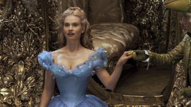 Cinderella is wearing blue these days, but little else in the princess narrative has changed.