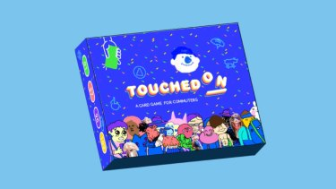 Touched On is a card game based on Melbourne's public transport network.