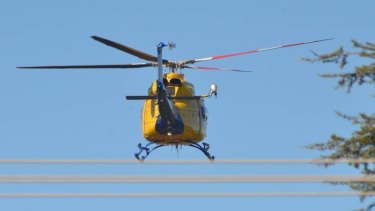 An injured truck driver is flown out of Goondiwindi after a fatal crash on the Newell Highway.
