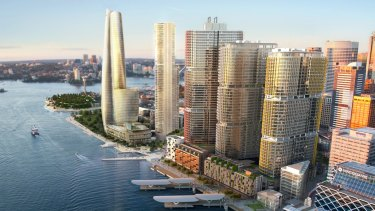 Crown's $1.5 billion proposal for Barangaroo.