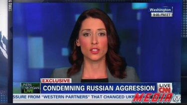 Former Russia Today host Abby Martin famously condemned the Russian military action in Ukraine in 2014 on the Russia-owned network. Such controversies form part of the new propaganda war.
