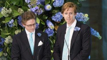 Sandy and Angus Dawson remember their sister Katrina.