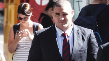 Russell Packer was handed a two-year jail sentence for assault over his drunken incident.