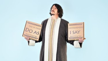 Beware: British food critic Jay Rayner is heading to Australia.