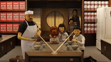 Isle of Dogs takes place in an imaginary Japan assembled from cliches old and new.