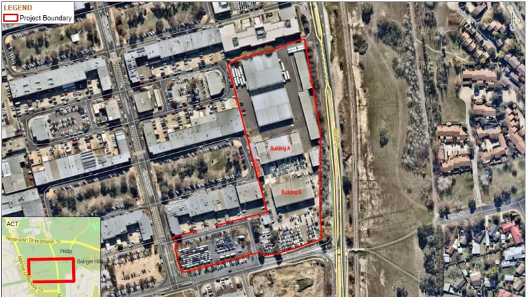 The ACT government wants to knock down the old Woden bus depot to build a new depot to fit 120 buses.
