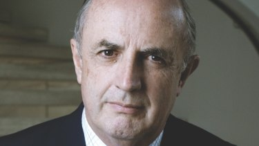 """Peter Reith has attacked Tony Abbott for """"not lifting a finger on industrial relations""""."""