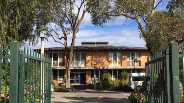 Walgett Public Primary School ... parents are getting financial help to send students elsewhere.